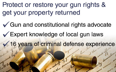 Gun Rights Attorney Snohomish and King County