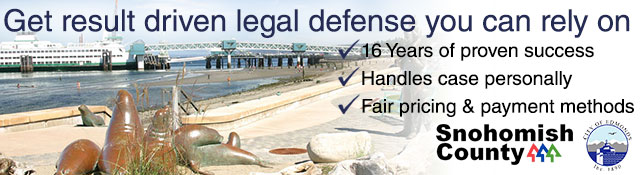 Edmonds Criminal Defense Attorney