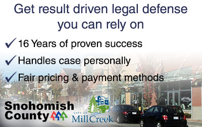 Mill Creek Criminal Defense Attorney