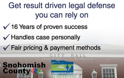 Snohomish Criminal Defense Attorney