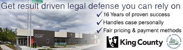 Kirkland Criminal Defense Attorney