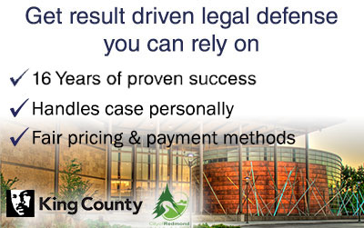 Redmond Criminal Defense Lawyer