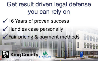 Shoreline Criminal Defense Attorney