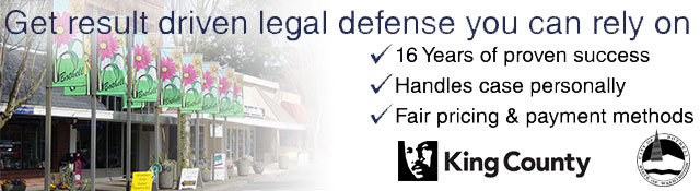 Bothell Criminal Defense Attorney
