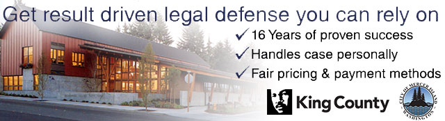 Mercer Island Criminal Defense Attorney